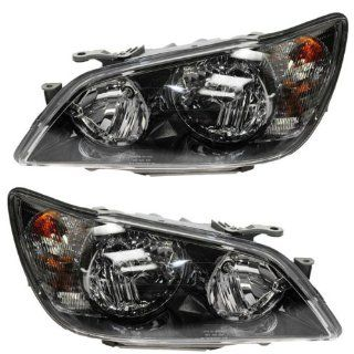 2002 2003 Lexus IS300 IS 300 HID Headlight Headlamp Composite Xenon Front Head Light Lamp Set Pair Left Driver And Right Passenger Side (02 03) Automotive