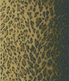 Brewster 405 49434 National Geographic Home Leopard Dark Brown Animal Print Wallpaper