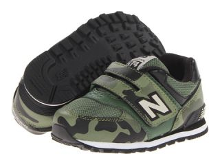 New Balance Kids Kv574 Toddler Army Olive Green