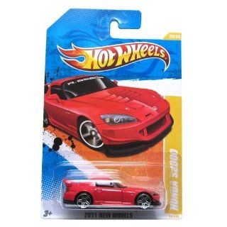 2011 HOT WHEELS 2011 20/244 RED HONDA S2000 20/50 Toys & Games