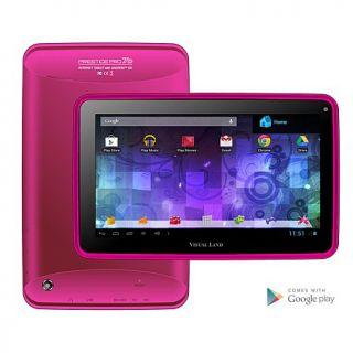 "Visual Land Prestige Pro FamTab 7"" Dual Core 16GB Android Tablet with Safety Bu"