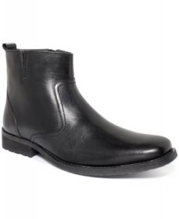 Kenneth Cole Reaction Boots, Central Plan Double Zip Boots   Shoes   Men