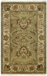 Safavieh CL239D 9 Classics Collection Handmade Green and Ivory Wool Area Rug, 8 Feet 3 Inch by 11 Feet