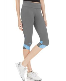 Under Armour Pants, Fly By Compression Active Capri Leggings   Women