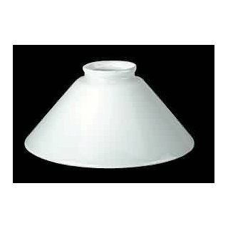 Lamp Shade White Glass, Lamp Shade White Glass 3 1/4 inch fitter  98483   Lampshades