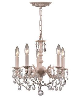 Crystorama Paris Flea Market Adorned 5 Light Chandelier   Lighting & Lamps   For The Home