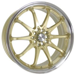 Kyowa Racing Series 206 Gold   18 x 7.5 Inch Wheel Automotive