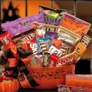 No Tricks Just Treats Halloween Candy Gift Basket for Kids  Gourmet Candy Gifts  Grocery & Gourmet Food