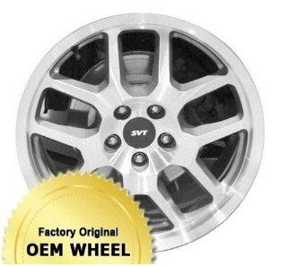 FORD MUSTANG 18X9.5 10 SPOKE Factory Oem Wheel Rim  MACHINED FACE GREY   Remanufactured Automotive