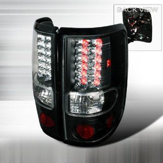 04 05 06 07 08 Ford F150 LED Tail Lights + Hi Power White LED Backup Lights   Black (Pair) Automotive