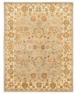 MANUFACTURERS CLOSEOUT Safavieh Area Rug, Heritage HG959A Lt. Green/Beige 5 X 8   Rugs