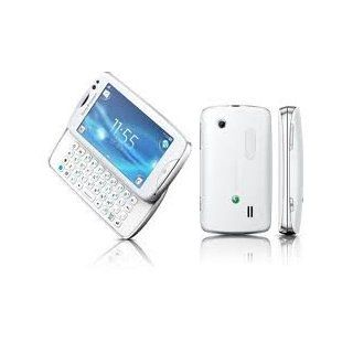Sony Ericsson TXT Pro CK15i Unlocked GSM Cellular Phone  International Version, no Warranty (White) Cell Phones & Accessories