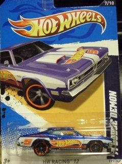 HOT WHEELS 1971 DODGE DEMON 177/247 NO. 7 OF 10 IN SERIES HW RACING '12 Toys & Games