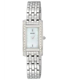 Seiko Watch, Womens Stainless Steel Bracelet 16mm SUJG53   A Exclusive   Watches   Jewelry & Watches