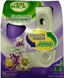 Air Wick Freshmatic Ultra Automatic Spray Lavender & Chamomile Fragrance Spray 175 Gm Kitchen & Dining