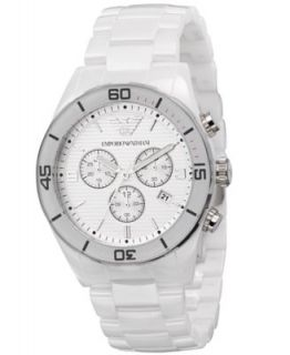 Emporio Armani Watch, Womens Stainless Steel Mesh Bracelet 43mm AR0390   Watches   Jewelry & Watches