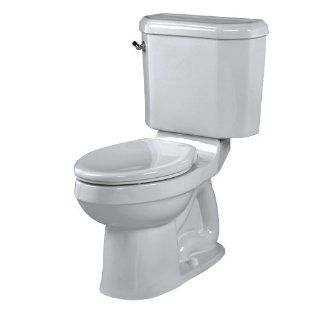 American Standard 2058.014.165 Doral Classic Champion 4 Right Height Two Piece Elongated Combination Toilet, Silver