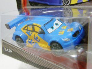 Disney / Pixar CARS 2 Movie 155 Die Cast Car Flash Swedish Racer Nilsson Super Chase Toys & Games
