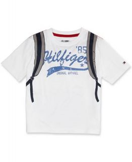 Tommy Hilfiger Kids T Shirt, Little Boys Backpack Tee   Kids