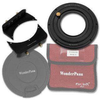 "WonderPana FreeArc 82mm Step Up Ring Kit from Fotodiox Pro, Anodized Black Metal Aluminum Step Up Ring for 82mm Lens Threads to 145mm WonderPana145 Round Filters and WonderPana66 6.6""x8.5"" Rectangle Filters with 145mm Lens Cap  Camera Lens Filte"