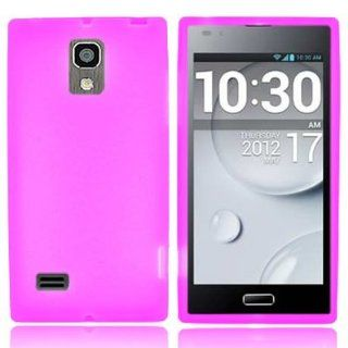 CoverON� Brand Soft Silicone HOT PINK Skin Cover Case for LG VS930 SPECTRUM 2 [WCP142] Cell Phones & Accessories