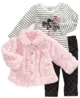 Blueberi Boulevard Baby Set, Baby Girls 2 Piece Dress and Coat   Kids