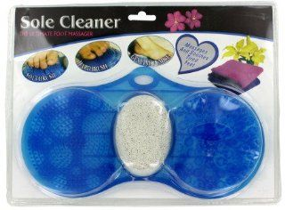 Shower Foot Scrubber With Pumice Stone   Kitchen Small Appliance Sets