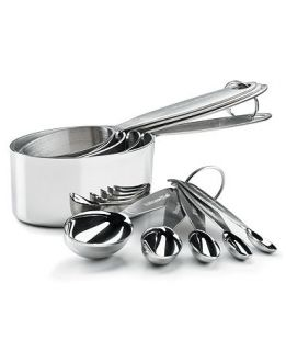 Cuisipro Measuring Cups & Spoons, Stainless Steel 9 Piece Set   Kitchen Gadgets   Kitchen