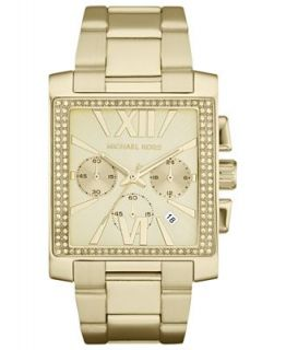 Michael Kors Womens Chronograph Gia Gold Tone Stainless Steel Bracelet Watch 37mm MK5673   Watches   Jewelry & Watches