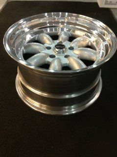 MSR 230 Silver 17x11 et 26mm 5x114.3 two piece wheel huge lip Automotive