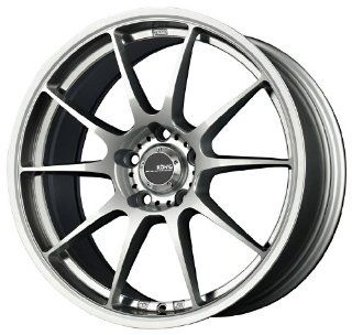 "Konig Milligram Silver Wheel with Machined Undercut (18x8.5""/5x114.3mm) Automotive"