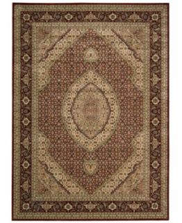 MANUFACTURERS CLOSEOUT Nourison Rugs, Persian Arts BD03 Brick   Rugs