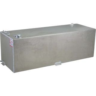 RDS Rectangular Auxiliary Transfer Fuel Tank — 91 Gallon, Smooth Finish, Model# 71790  Auxiliary Transfer Tanks
