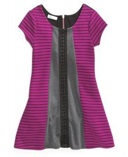 Bonnie Jean Girls Dress, Girls Striped Ponte Knit Dress   Kids