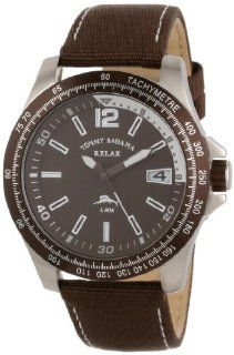 Tommy Bahama RELAX Men's RLX1185 Banana Landing Brown Dial Silver Accents Chronograph Watch at  Men's Watch store.