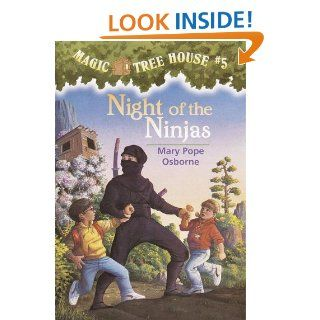 Magic Tree House #5 Night of the Ninjas (A Stepping Stone Book(TM))   Kindle edition by Mary Pope Osborne, Sal Murdocca, Sal Murdocca. Children Kindle eBooks @ .