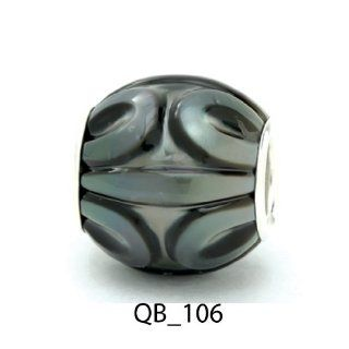 Authentic Galatea Black South Sea Pearl Queen Bead QB 106 Jewelry