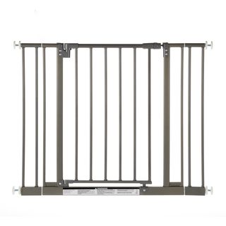 North States Easy Close Burnished Steel Metal Gate North States Child Gates