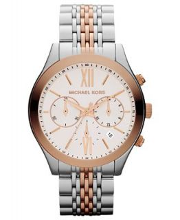 Michael Kors Womens Chronograph Two Tone Stainless Steel Bracelet Watch 42mm MK5763   Watches   Jewelry & Watches