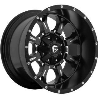Fuel Krank 20 Black Wheel / Rim 5x5 & 5x5.5 with a  44mm Offset and a 87.1 Hub Bore. Partnumber D51720205747 Automotive