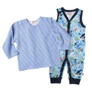Zutano Baby Boys Infant Aviation Romper and Long Sleeve Tee Set Infant And Toddler Pants Clothing Sets Clothing