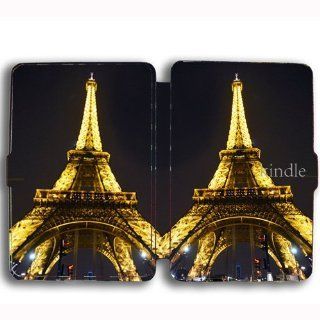 Eiffel Tower kingdle paperwhite Leather Case Cover KD 0062 Cell Phones & Accessories