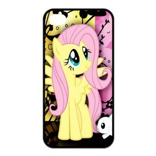 PhoneCaseDiy Cartoon Game Friend Is Magic My Little Pony Design Case For Iphone 4 4s With Durable TPU Sides Ip4 AX51620 Cell Phones & Accessories