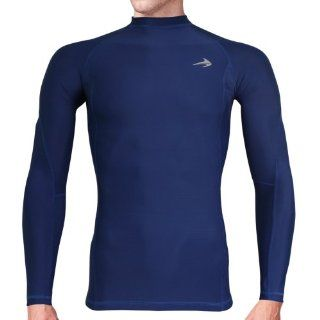 Compression Shirt Long Sleeve   Men's Cold Top, Best for Gym Running, Basketball Sports & Outdoors