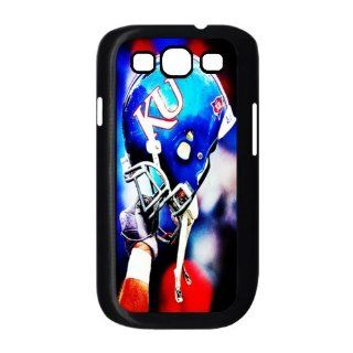 Sports Just Do It Design 5 NCAA Kansas Jayhawks Football Helmet Print Case With Hard Shell Cover for Samsung Galaxy S3 I9300 Cell Phones & Accessories