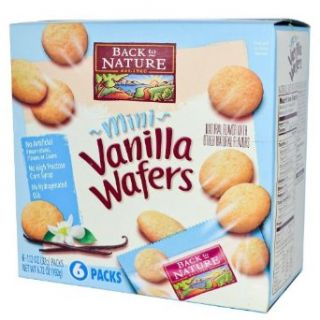 Back To Nature Mini Vanilla Wafer Cookies 6.7 oz. (Pack of 6)