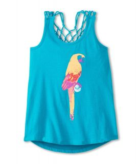 Roxy Kids Twirling Time Tank Girls Sleeveless (Blue)