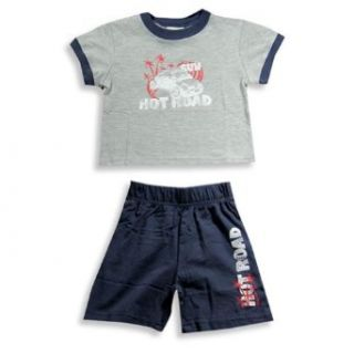 Mish   Infant Boys Short Sleeve Knit Short Set Clothing