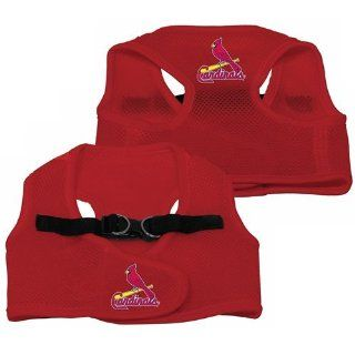 St. Louis Cardinals Pet Dog Mesh Vest Harness SMALL/MEDIUM