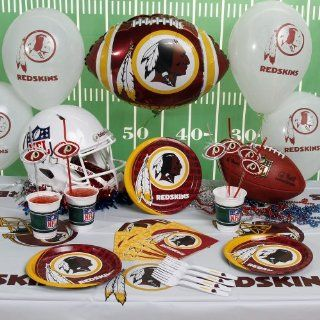 NFL Washington Redskins Party Kit (88 Piece)  Sports Fan Paper Cups  Sports & Outdoors